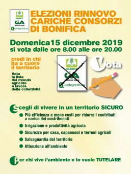 Elezioni consorzio di Bonifica
